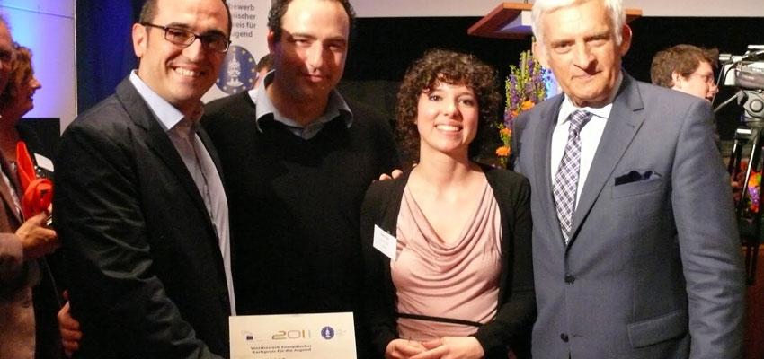 Escena Erasmus gana el Tercer Premio Europeo Carlomagno de la Juventud del Parlamento Europeo