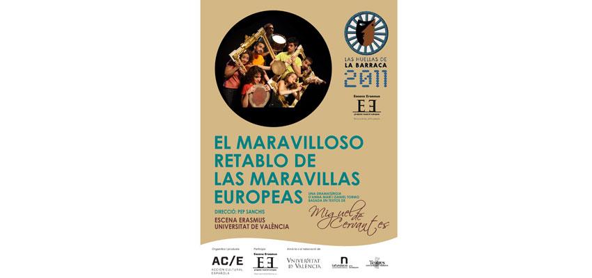 El Proyecto Teatral Europeo Escena Erasmus presenta la gira de su nuevo espectáculo y el Premio Europeo Carlomagno de la Juventud