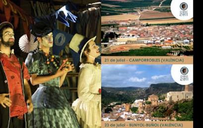 El interior valenciano acoge a La Barraca Europea: Escena Erasmus esta noche en Camporrobles y el sábado en Buñol