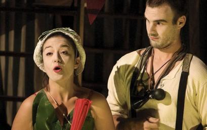Escena Erasmus presenta hoy en Teruel su espectáculo cervantino dentro de las actividades culturales del Plan de Actuación Específico del Gobierno de España para esa ciudad