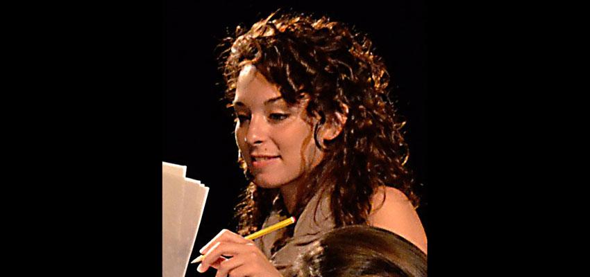 """Hoy conocemos a Irene Malin, una de las dos actrices italianas de """"Lorca, Calderón y los estudiantes de Babel"""""""