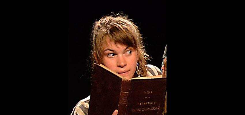 """Hoy conocemos a Laura Kreitmann, nuestra actriz francesa de """"Lorca, Calderón y los estudiantes de Babel"""""""