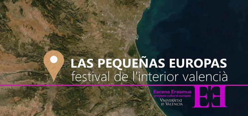 Escena Erasmus visitará este verano pueblos del interior valenciano con su nuevo proyecto itinerante Las Pequeñas Europas