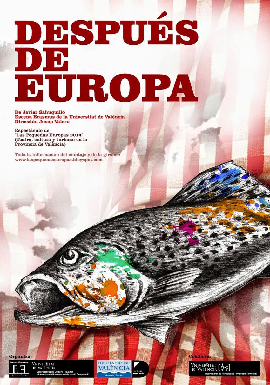 """El nuevo espectáculo de Escena Erasmus """"Después de Europa"""" se presenta la semana que viene en La Nau de la UV"""