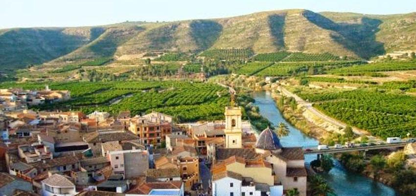 Escena Erasmus descubre hoy los paisajes del Xúquer en Sumacàrcer