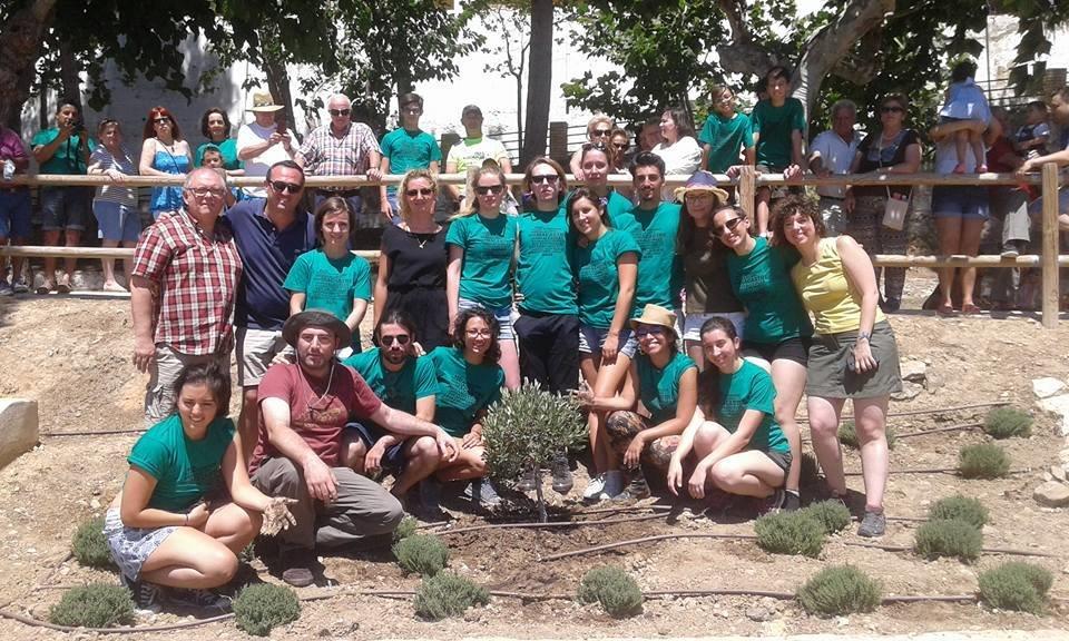 El Árbol de Europa ya crece en Macastre