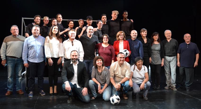 Joves valencians, europeus i refugiats protagonitzen el nou espectacle d'Escena Erasmus
