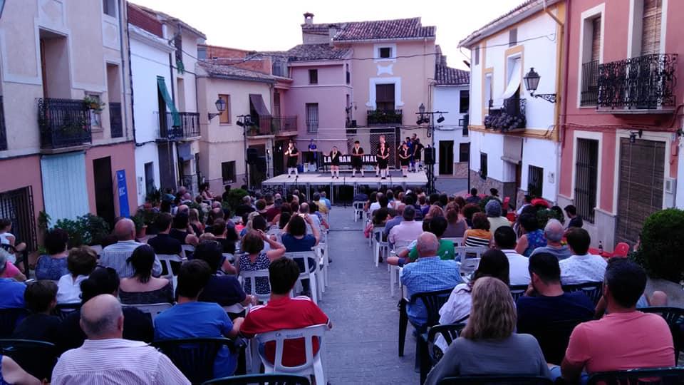 Participació d'Ajuntaments en la Gira Escena Erasmus 2019 (Activitats Culturals de la Diputació de València)