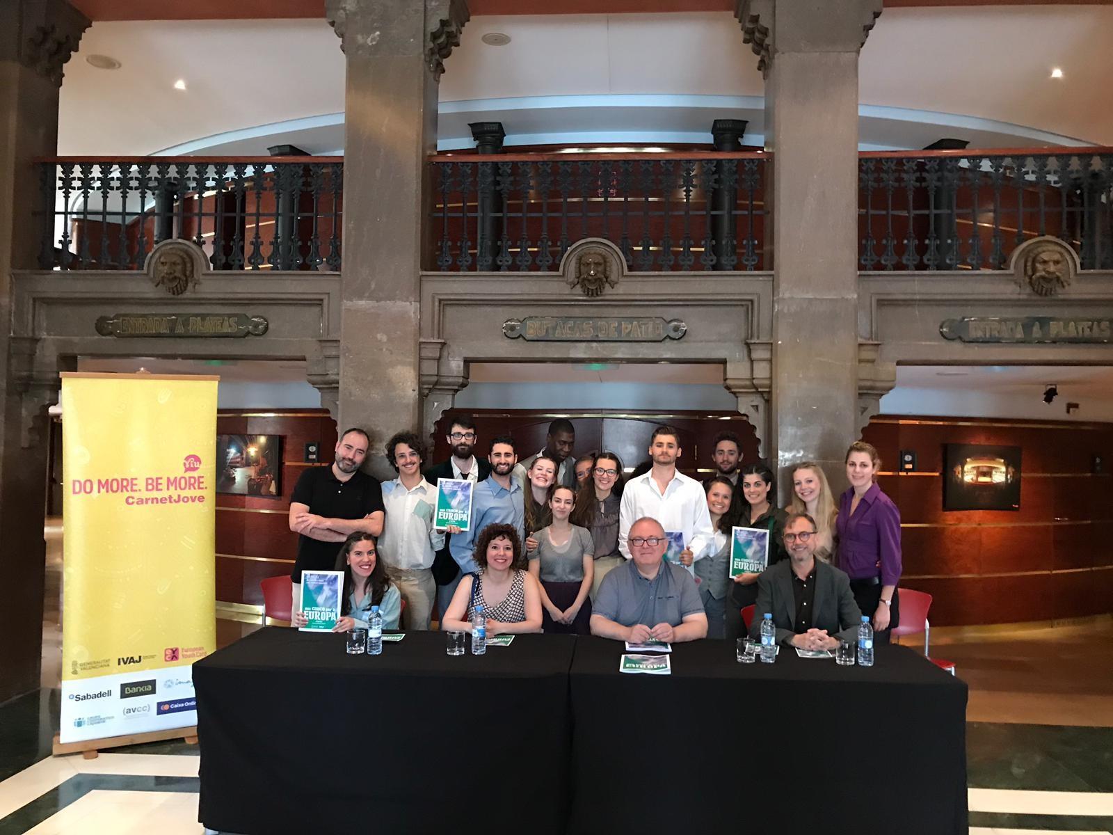 """El IVAJ y Escena Erasmus acercan """"Una cançó per a Europa"""" para difundir valores democráticos frente a los totalitarismos"""